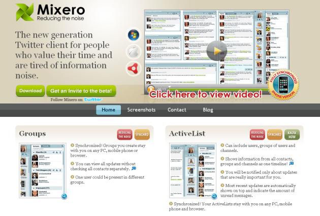 mixero-homepage