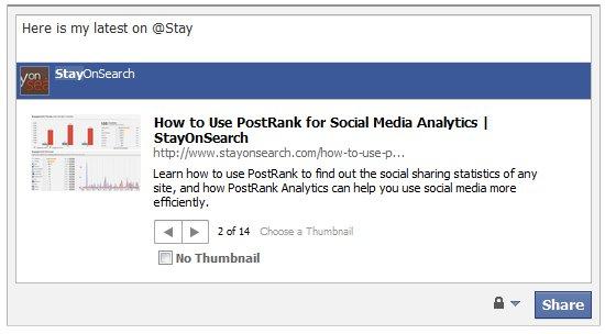 Facebook Status Tagging