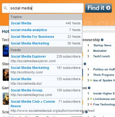 PostRank - Social Media Blog Search