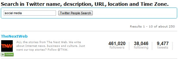 Twittercoutner Search Results