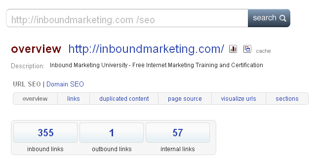 Blekko Search | http://inboundmarketing.com /SEO