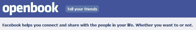 Your OpenBook Facebook Search