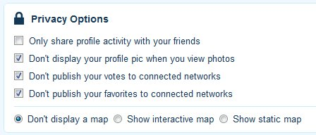Plixi Privacy Settings