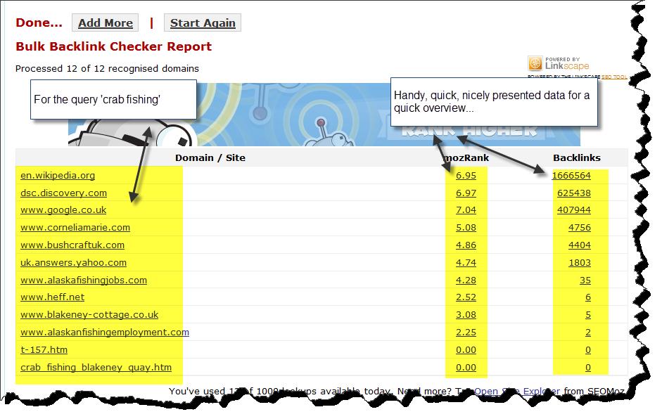 SEO Tool- Backlinks.in