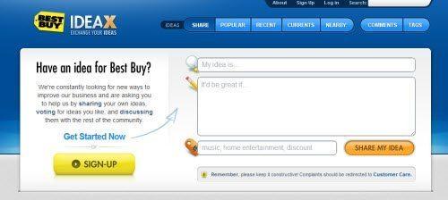 Open Source Idea-Gathering App. – BBYIDX