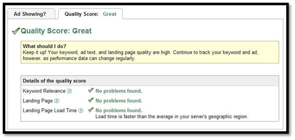 Guide to Decrypting Google's Ad Quality Score
