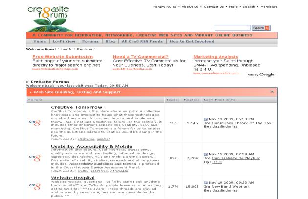 creasite-forums