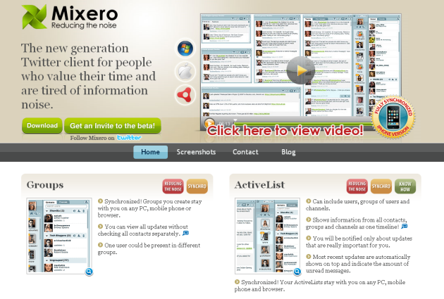 mixero-homepage