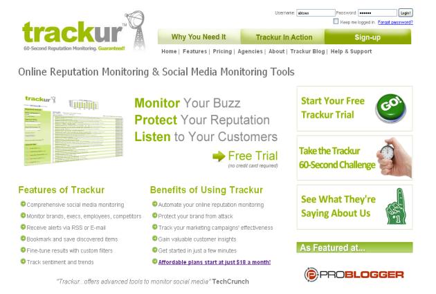 trackur-homepage