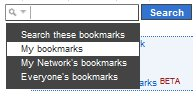 Delicious Search My Bookmarks