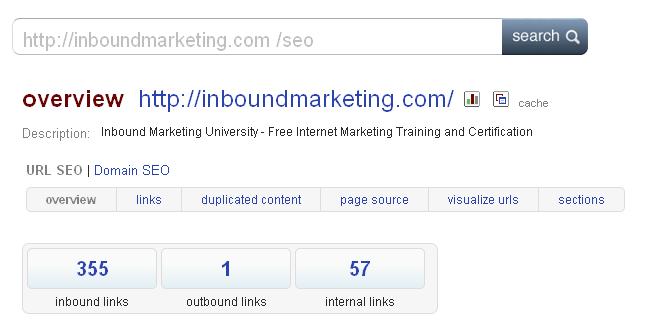 Blekko Search   http://inboundmarketing.com /SEO