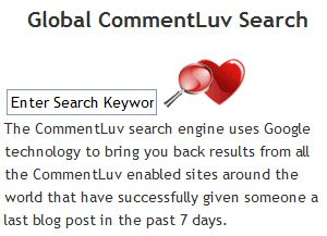 Comluv Blog Search