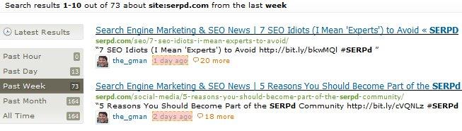 Tweets from SERPd