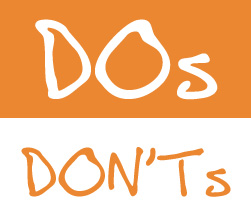 Dos and Don'ts of A/B testing