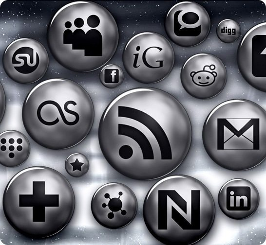 Where To Get Social Media Buttons For Your Blog