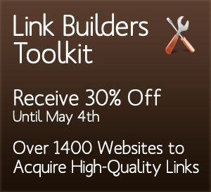 30% Off: Download the Link Builders Toolkit