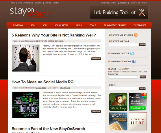 StayOnSearch Get's a Facelift and New Features Added!