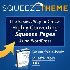 Squeeze Theme Review, Receive 20% Off for StayOnSearch Readers
